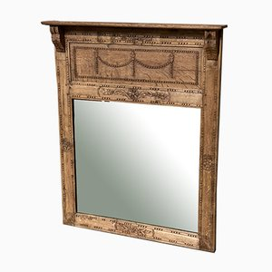 19th Century French Overmantel Mirror