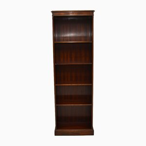Antique Georgian Style Open Bookcase