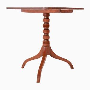 Regency Mahogany Tilt Top Side Table