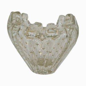 Finger Vase aus Murano Glas von Venini, 1950er