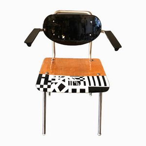 Black & White Past Forges Future Armchair by Markus Friedrich Staab