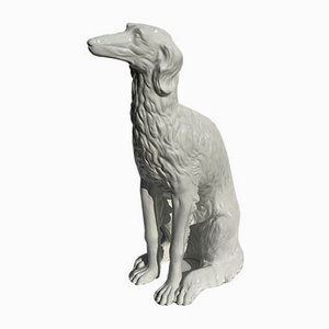 Large Porcelain Borzoi Dog, Austria