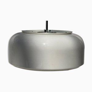 Lámpara colgante Bumling en blanco de Anders Pehrson para Atelje Lyktan