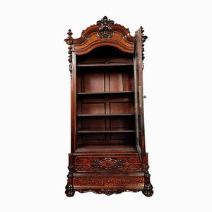 Charles X Bookcase in Rosewood