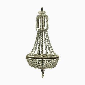 Lámpara de araña eduardiana antigua