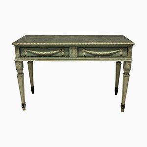 Mesas consola suecas antiguas pintadas. Juego de 2
