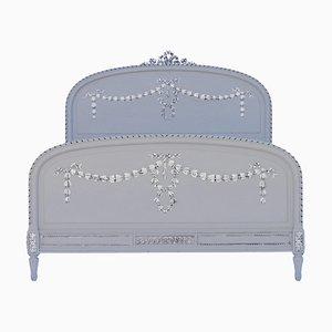 Antikes französisches Queen Size Bett