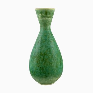 Vase in Glazed Ceramics by Sven Wejsfelt for Gustavsberg Studiohand