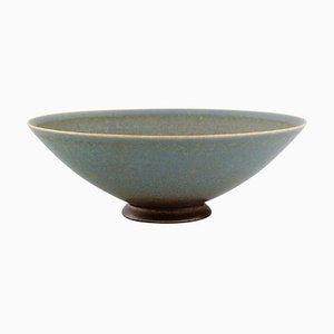 Bowl on a Base by Sven Wejsfelt for Gustavsberg Studiohand
