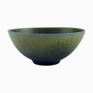 Bowl in Glazed Ceramics by Sven Wejsfelt for Gustavsberg Studiohand