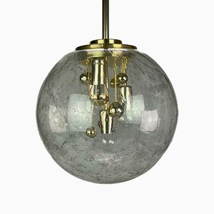 Glass Ball Ceiling Lamp from Doria, 1960s