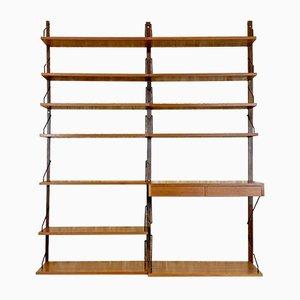 Teak Shelf Wall Unit by Poul Cadovius for Cado, 1960s