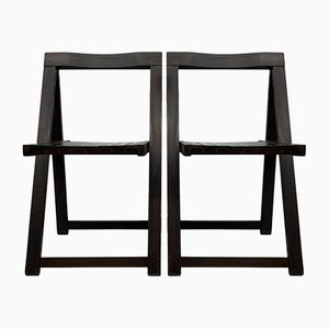 Folding Chairs by Aldo Jacober for Alberto Bazzani, 1960s, Set of 2
