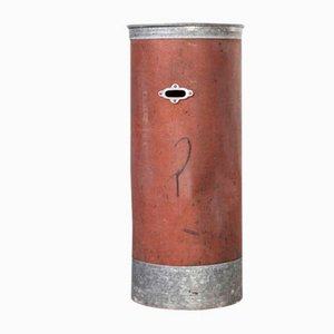 Tall Model 1259.1 Industrial Storage Cylinder, 1940s