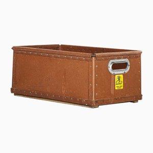 Low Industrial Storage Box, 1940s