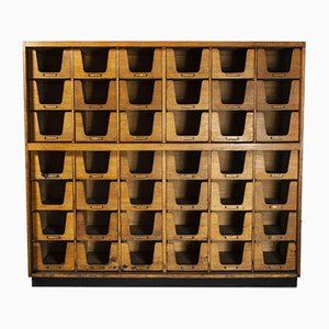 Forty Two Drawer Haberdashery Shelving Cabinet, 1940s