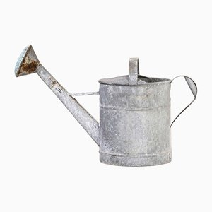 French Galvanised Model 2 Watering Can, 1950s
