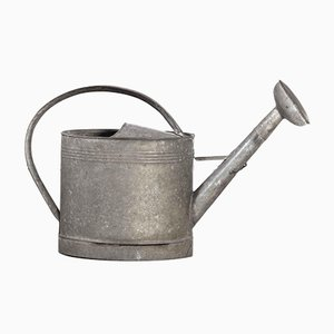 French Galvanised Model 1 Watering Can, 1950s