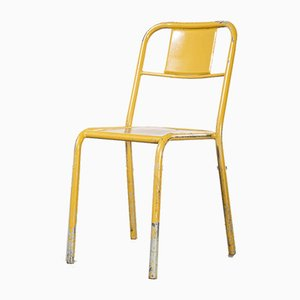 French Mullca Stacking Dining Chairs, 1950s, Set of 4