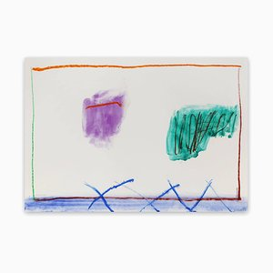 Sin título 4, Pintura abstracta, 2018