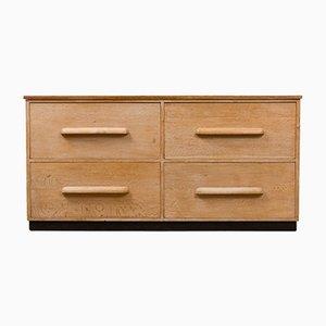 Eichenholz Garderoben Schubladen, 1950er