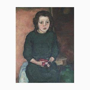 Albert Sautere, Girl and Her Rag Doll, 1917