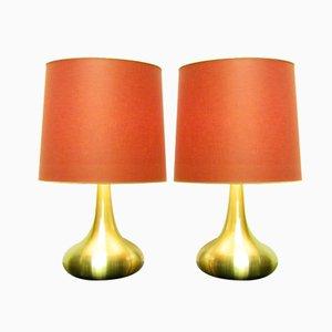 Lámparas de mesa Orient grandes de Jo Hammerborg para Fog & Morup. Juego de 2