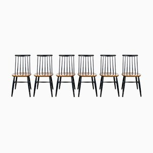 Tapiovaara Chairs, Set of 6