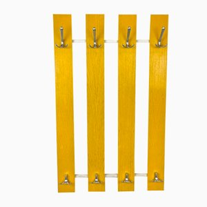 Yellow Coat Rack