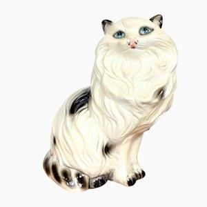 Keramikfigur einer Katze