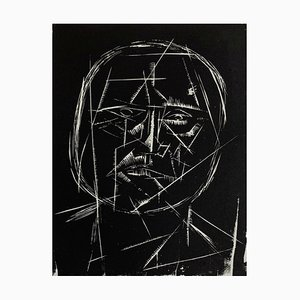 Jerzy Panek, Self Portrait, 1957