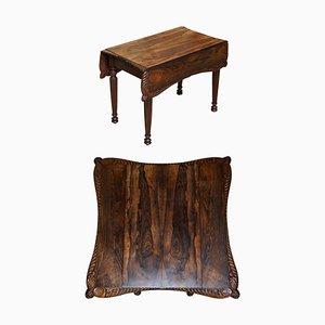Ausziehbarer Pembroke Tisch, 1830er