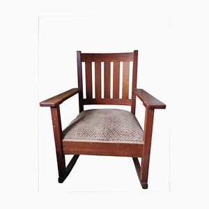 Arts and Crafts Stickley Rocking Chair