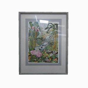 Butterfly Farm Aquarell von Sheilagh Calder