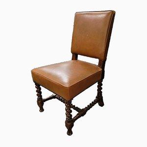 Antique Oak Chairs, Set of 10