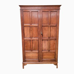 Oak Wardrobe from Waring and Gillow
