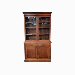 Oak Edwardian Bookcase