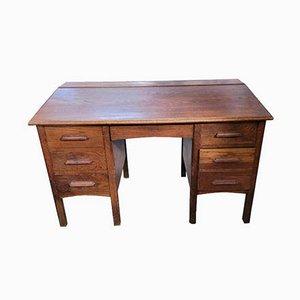 Eichenholz Lehrer Schreibtisch