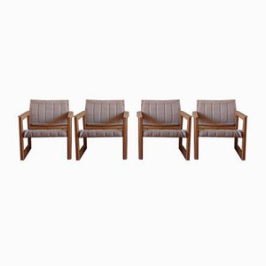 Diana Safari Lounge Chairs by Karin Mobring for Ikea, 1970s, Set of 4
