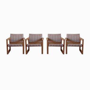 Diana Safari Sessel von Karin Mobring für Ikea, 1970er, 4er Set