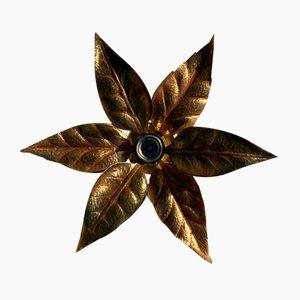 Florentiner Florale Wandleuchte von Willy Daro für Massive Lighting