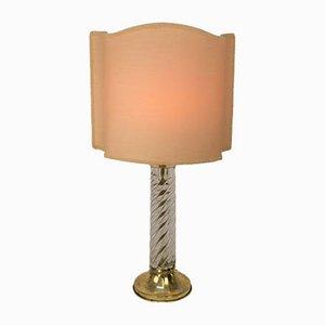Torchon Glaslampe, Italien, 1970er