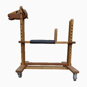 Verstellbares Holzpferd