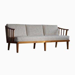 Schwedisches Mid-Century Visingsö 3-Sitzer Sofa von Carl Malmsten für OH Sjögren, 1960er