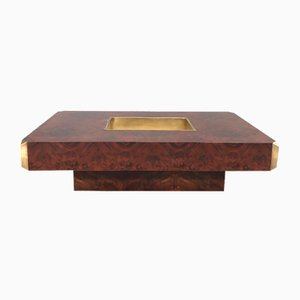 Table Basse par Willy Rizzo pour Mario Sabot, 1970s