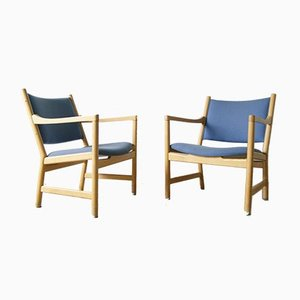 Mid-Century Model CH52 Armchairs by Hans J. Wegner for Carl Hansen & Son, Set of 2