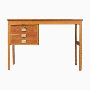 Eschenholz Schreibtisch, Dänemark, 1970er