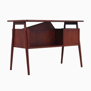 Teak Schreibtisch von Gunnar Nielsen Tibergaard für Andreas Tuck, Dänemark, 1960er
