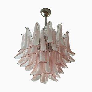 Pink Murano Glass Chandelier