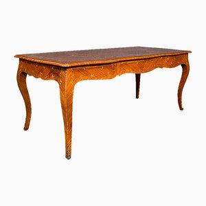 Breiter französischer Vintage Louis XV Stil Tisch oder Schreibtisch, 1960er